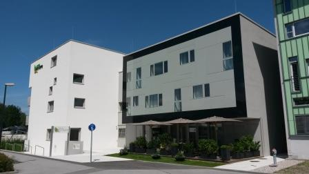 Passivhaus-Jugendwohnheim