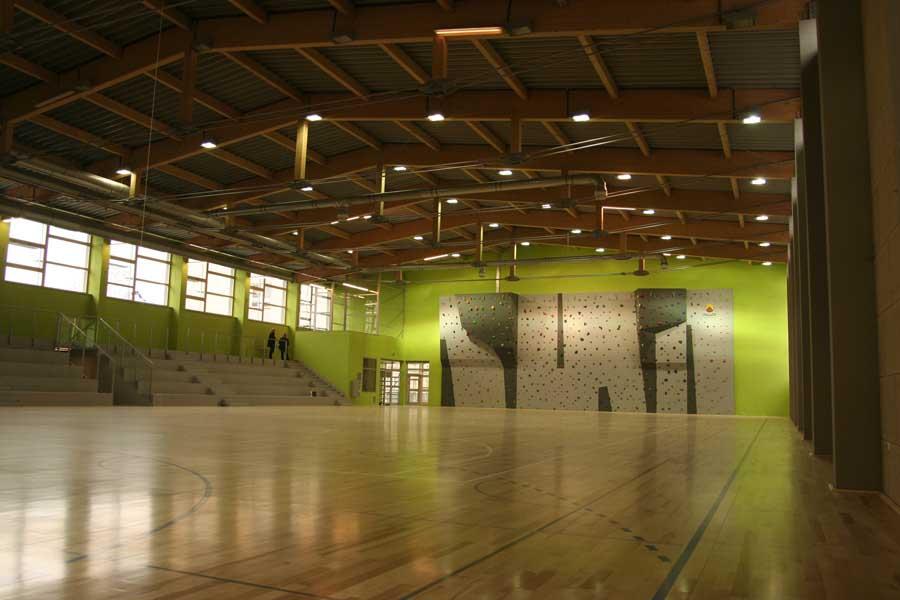 Passivhaus-Sporthalle in Slomniki