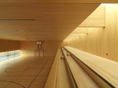 Passivhaus-Turnhalle
