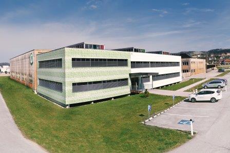 Bürogebäude in Passivhaus-Standard