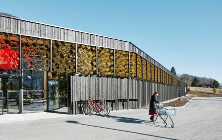 Passivhaus-Supermarkt Piesendorf