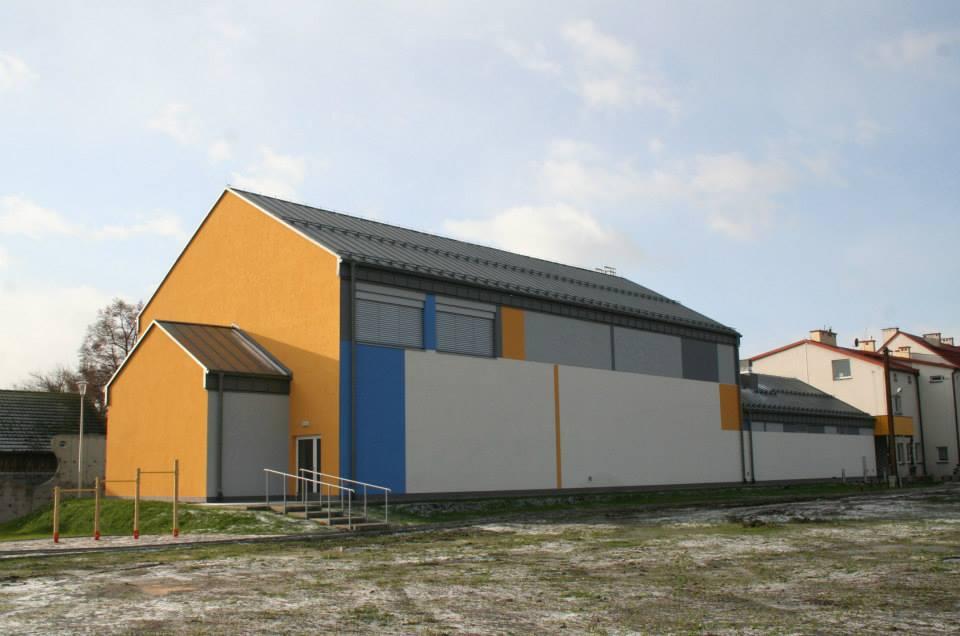 Passivhaus-Gymnastikhalle von Slomniki