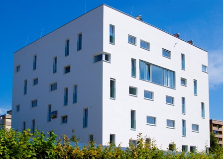 Studentenwohnheim in Passivhaus-Standard