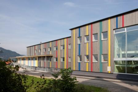 Passivhaus-Schulsanierung St. Leonhard; Foto: kraus energiekonzept