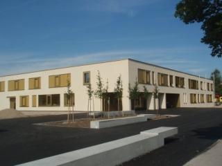 Schule mit Passivhaus-Komponenten