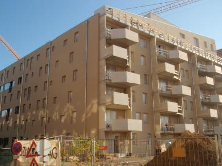 Passivhaus-Siedlung Eurogate
