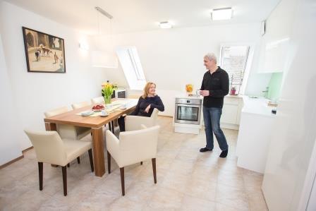 Sanierung einer Einzelwohnung zum Passivhaus
