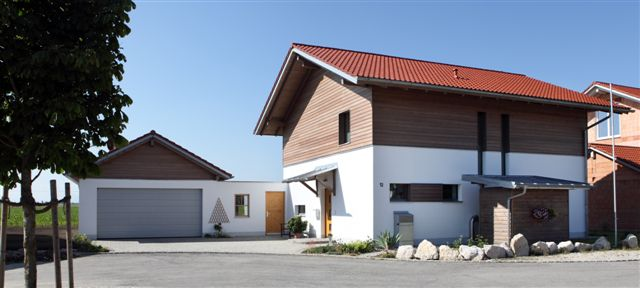 Le Holzbalken passive house buildings