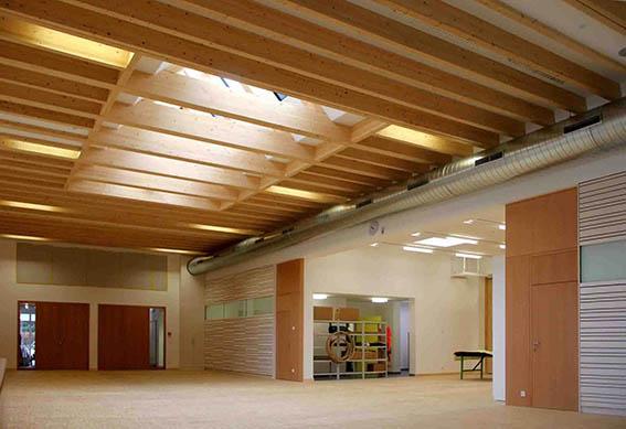 Schule in Passivhaus-Standard