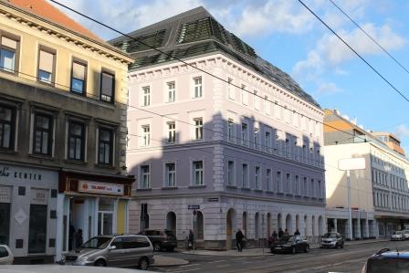 Gründerzeithaus Mariahilfer Straße, Wien /Austria