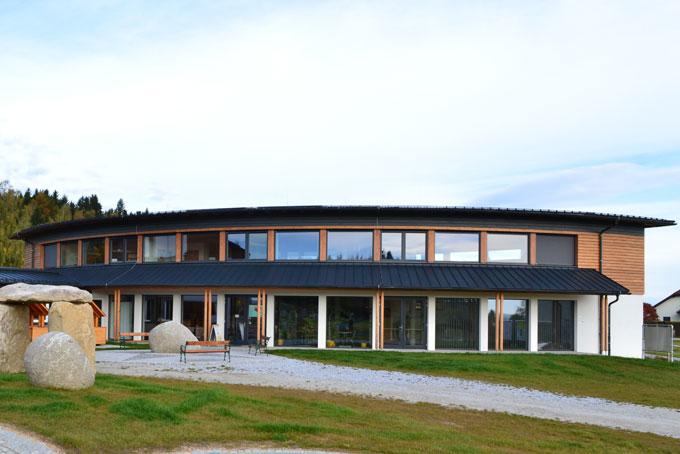 Verwaltungsgebäude im Passivhaus-Standard