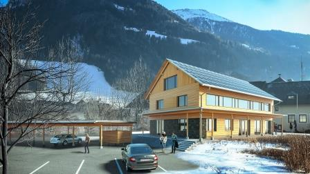 Gebäude der Nationalparkdirektion Hohe Tauern