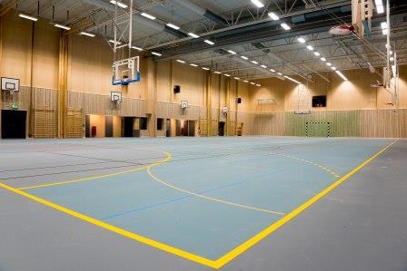 Glänningehallen Passivhaus Gym