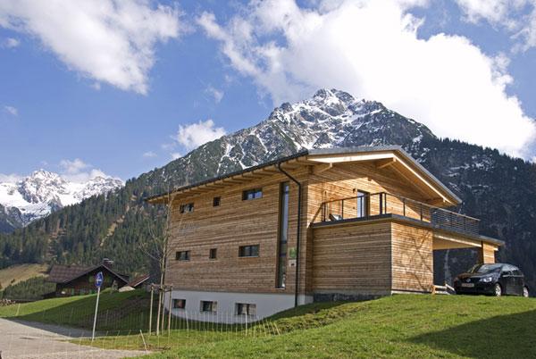 Ferienhaus im Passivhaus-Standard