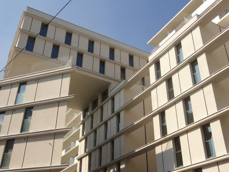 Studentenwohnhaus in Passivhaus-Standard